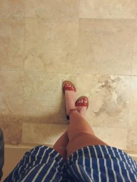 footsies!