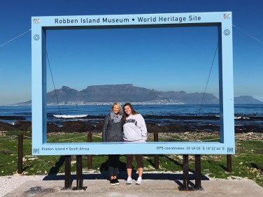 Last day trip to Robben Island with mom