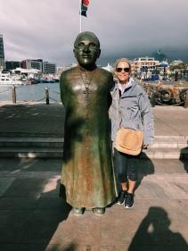 Mom and Desmond Tutu