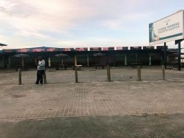 Series of food stalls in Khayelitsha