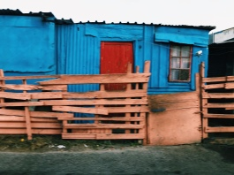 A colorful version of informal housing