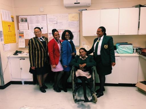 Lovely maternity nurses/administrators