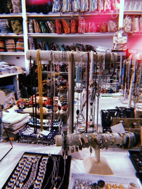 Jewelry in Old Biscuit Mill