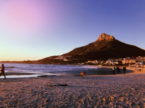 Sunset on Camps Bay with Lion's Head