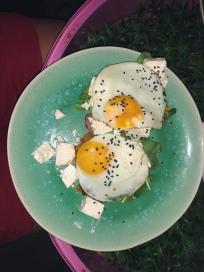 eggs @ the Raptor Room