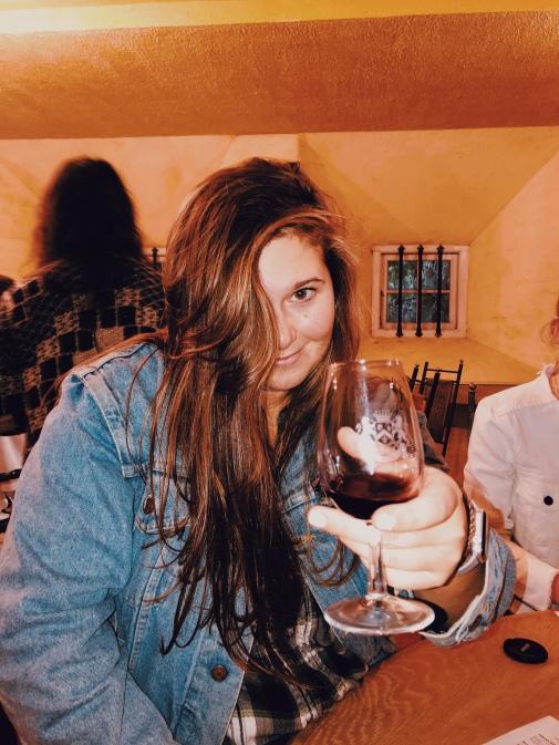 Last tasting at Morgenhof