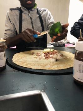 Savory breakfast crepe 😍