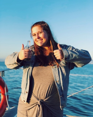 two thumbs up for a $22 sunset cruise!